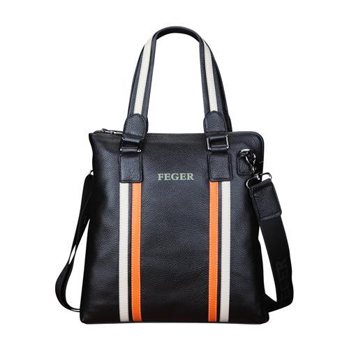Túi xách nam ngăn kẹp khóa chìm Feger 067-1