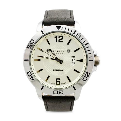 Đồng hồ nam mặt tròn Julius Home JAH-009