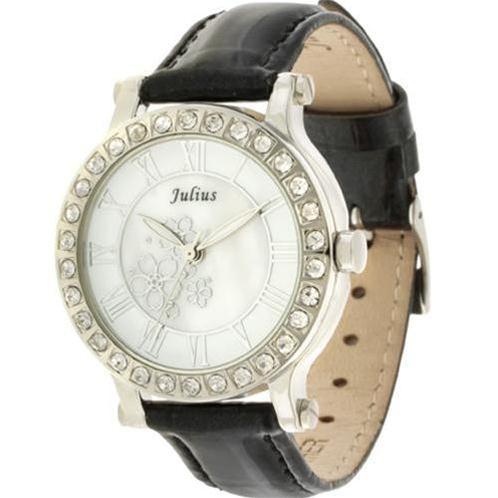 Đồng hồ nữ Julius JA486 nạm vân tinh xảo