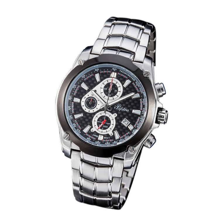 Đồng hồ nam mặt kính khoáng Pafolina RA-3525