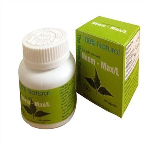 Combo 3 hộp thực phẩm chức năng Neem - max/L cho người đường huyết cao