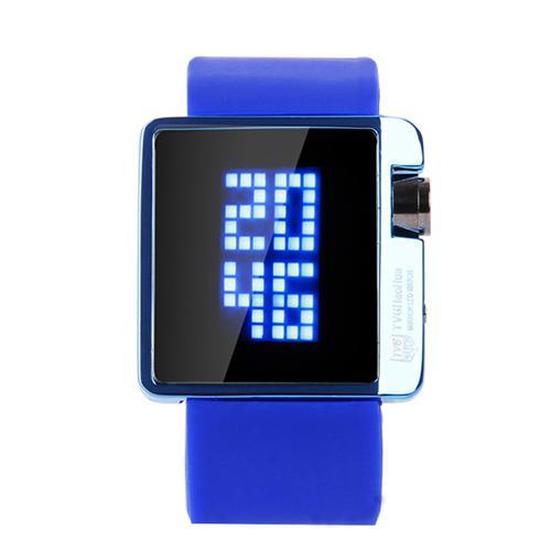 Đồng hồ học sinh mặt gương nam, nữ TVG 4G08