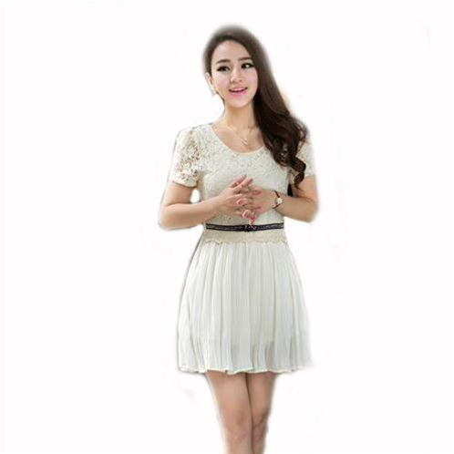 Váy ren Tiểu Thư Hàn Quốc