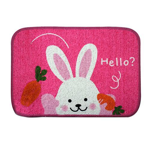 Thảm Hello Rabbit Bộ 3 (chiếc) thấm nước hiệu quả
