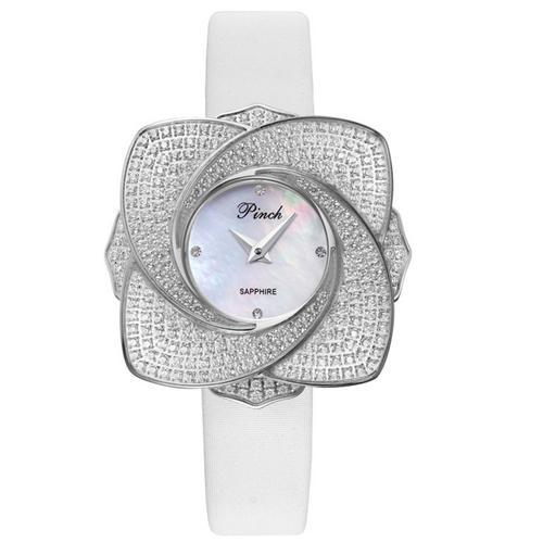 Đồng hồ nữ cánh hoa đính pha lê Pinch L9512-P04