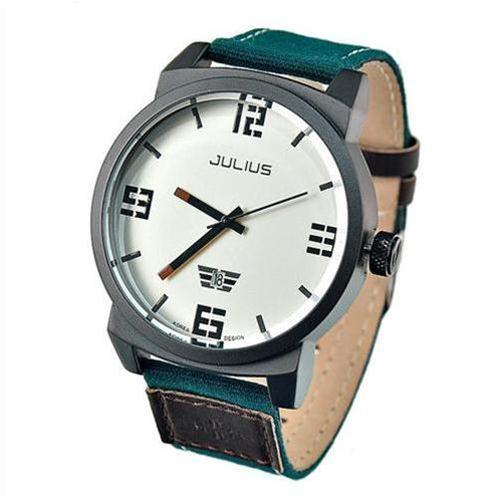 Đồng hồ nam dây vải Julius JA-542 thời trang