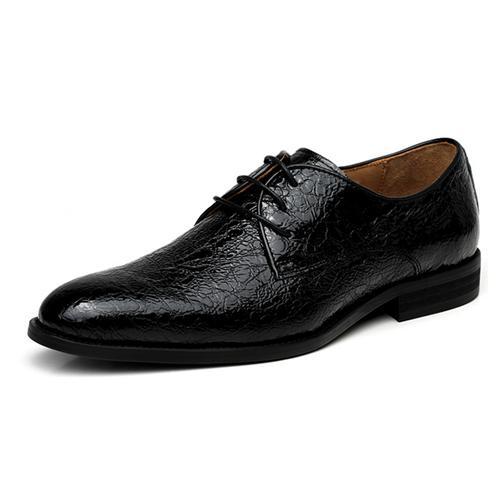 Giày da nam VANGOSEDUN Y10315 họa tiết độc đáo