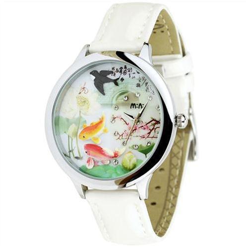 Đồng hồ nữ Mini MN973 Mặt phong cảnh tươi đẹp
