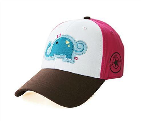 Mũ kết họa tiết chú voi Pink Sheep