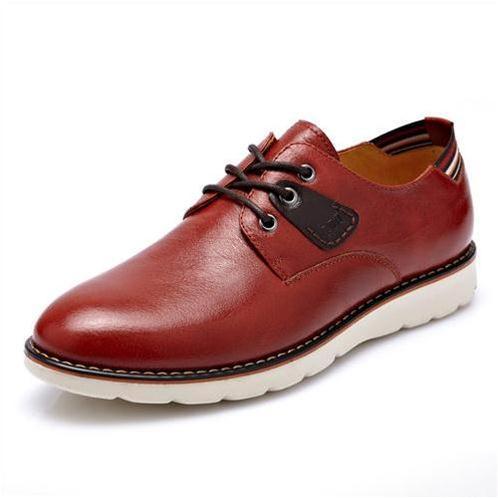 Giày da nam CDD G285 sang trọng với lớp da bóng