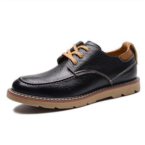 Giày nam Simier 6712 dây dẹt công sở