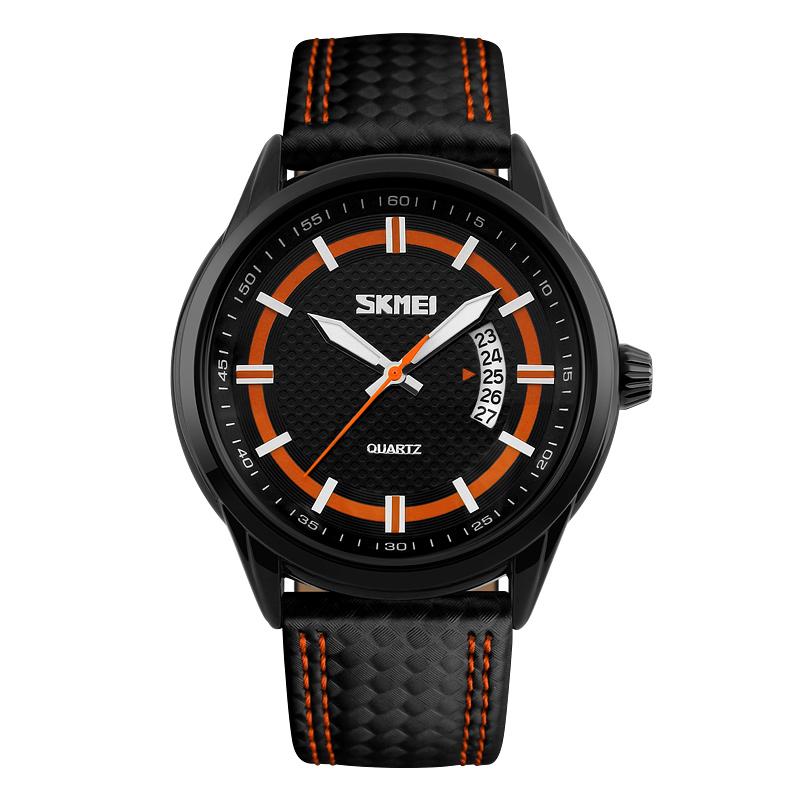Đồng hồ nam Skmei Field Watch dây đeo vân nổi