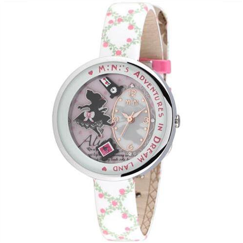 Đồng hồ nữ Mini MN1093 Mặt thỏ ngộ nghĩnh