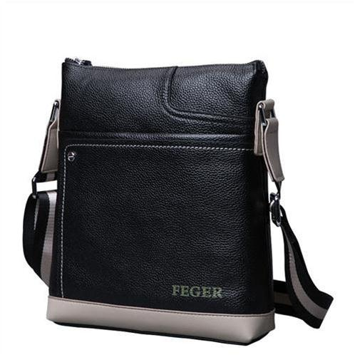 Túi da nam đeo vai Feger 037-1