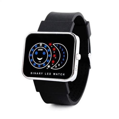Đồng hồ nữ Skmei 0982 dây đeo silicon