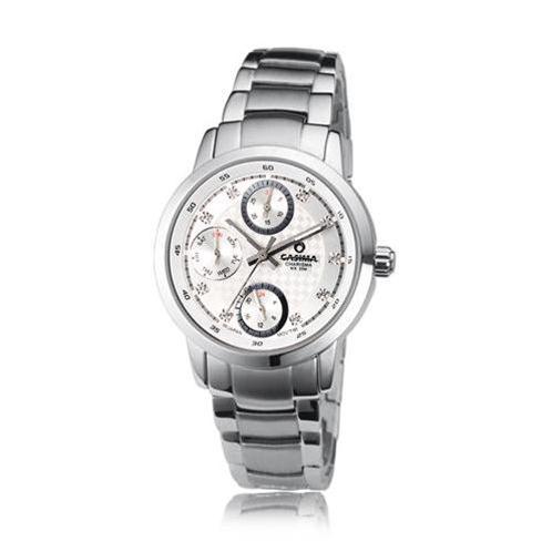 Đồng hồ nữ Casima 5105 kim giờ to bản