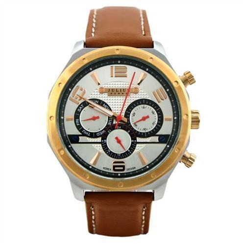 Đồng hồ nam 6 kim Julius JAH-063