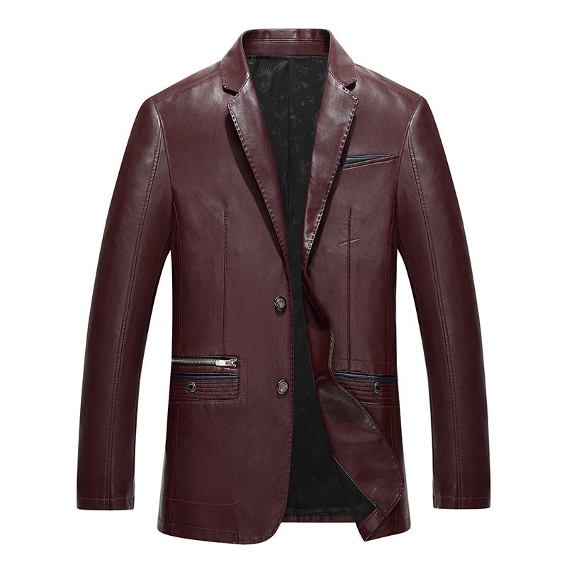 Áo khoác da nam dáng vest HXDSL style Âu Mỹ