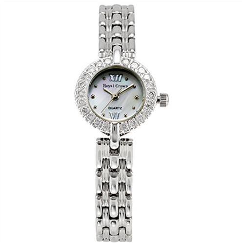 Đồng hồ nữ Royal Crown mặt tròn trẻ trung