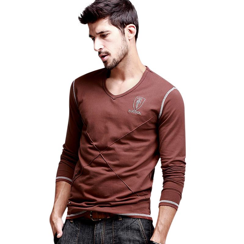Áo T-shirt nam K_Jeans họa tiết đường may nổi chữ X