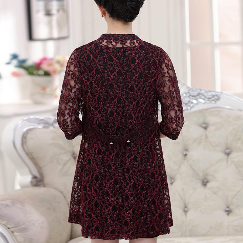 Bộ áo dáng dài ren hoa cách tân PÉMAN