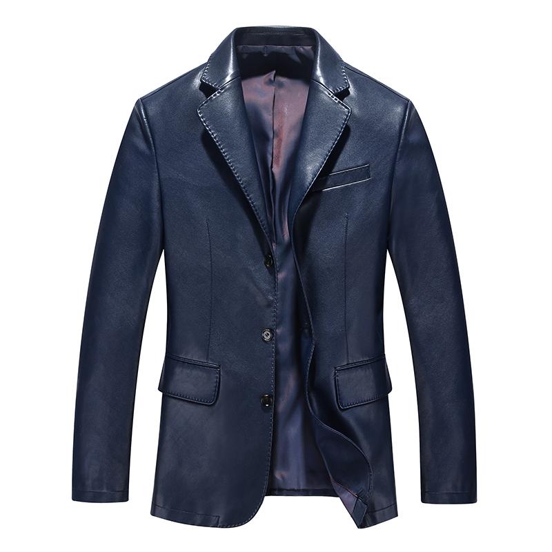 Áo jacket da nam giả vest HXDSL Urban Style