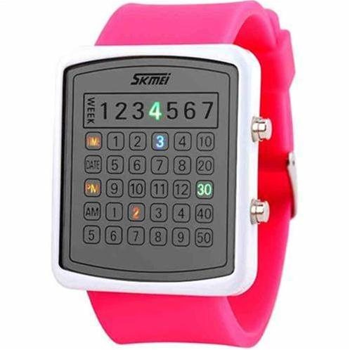 Đồng hồ điện tử Skmei 0987 cá tính với đèn Led