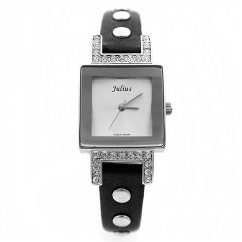 Đồng hồ nữ mặt vuông cá tính Julius JA-522