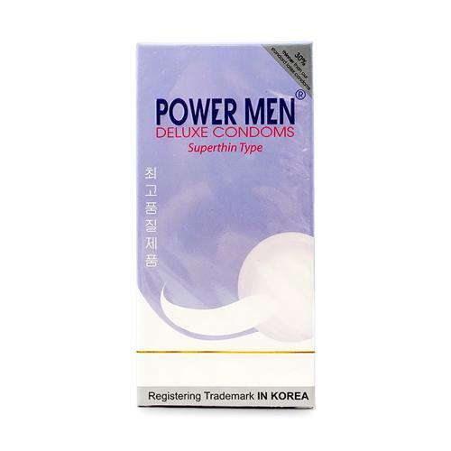 Bao cao su Power Men siêu mỏng