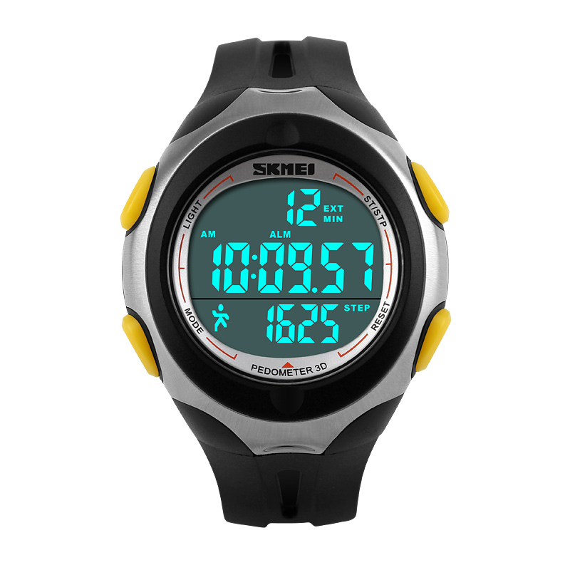 Đồng hồ thể thao nam Pedometer 3D Skmei 1107