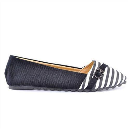 Giày vải nữ đẹp Jeans phối da chính hãng Windy