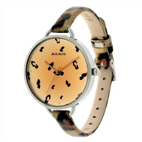 Đồng hồ nữ họa tiết báo Julius JA254