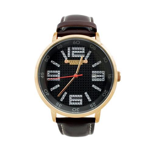 Đồng hồ nam dây da Hàn Quốc Julius JAH-073