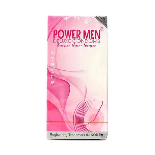 Bao cao su siêu mỏng kéo dài cuộc yêu Power Men