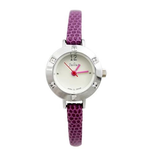 Đồng hồ nữ dây đeo da Julius JA-677
