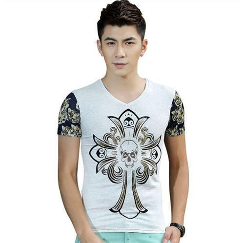 Áo T-shirt nam ngắn tay Sinhillze họa tiết retro