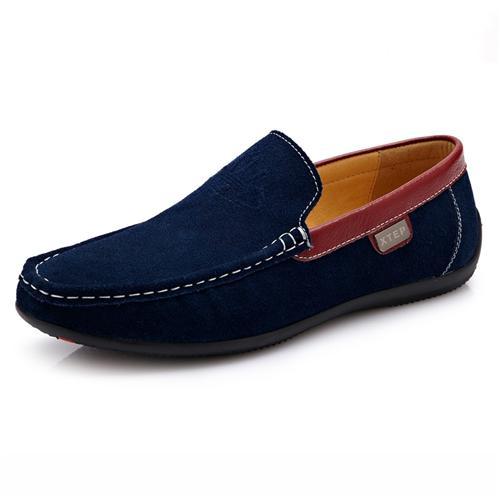 Giày lười nam da lộn thời trang CDD D533