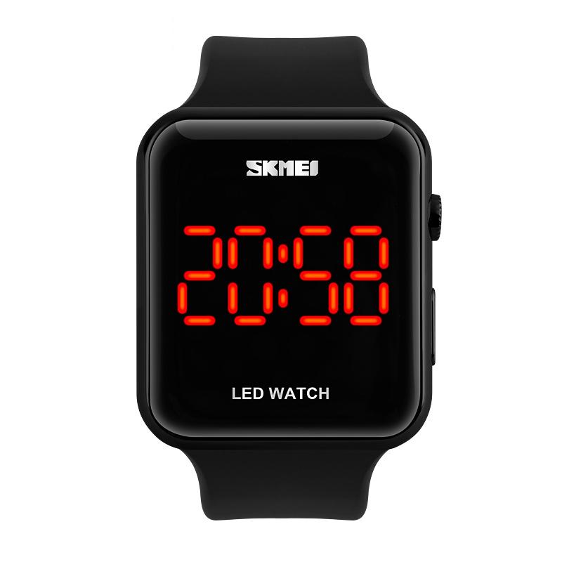 Đồng hồ điện tử Led Skmei Square