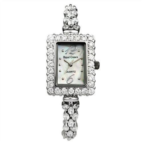 Đồng hồ lắc tay nữ Royal Crown gắn đá cao cấp