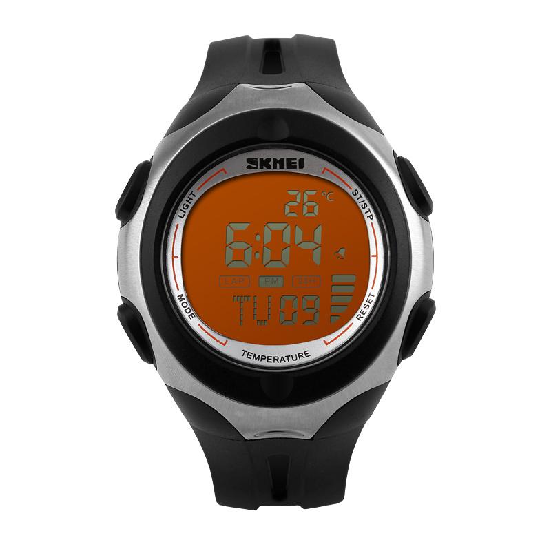 Đồng hồ điện tử nam đo nhiệt độ môi trường Skmei 1080