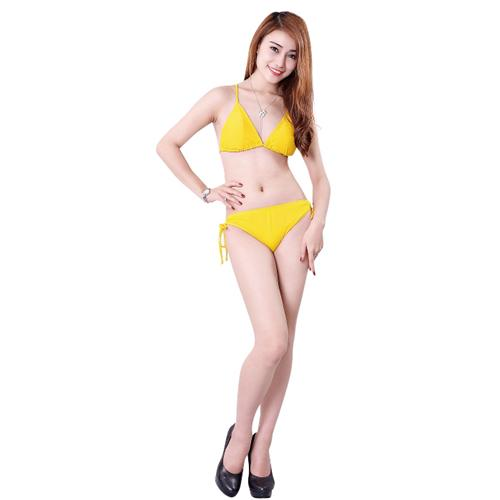 Bộ bikini Hương Điệp phong cách hai mảnh triangle