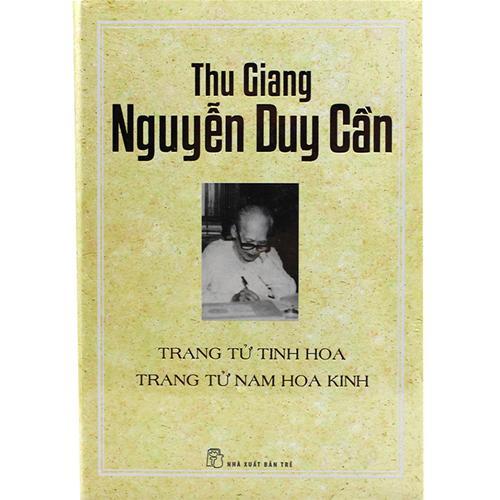 TS Thu Giang - Trang Tử tinh hoa - Trang Tử Nam hoa kinh (BC)