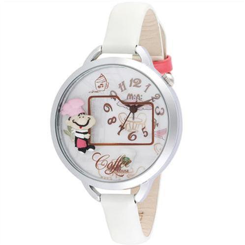 Đồng hồ nữ Mini MN986 coffee house