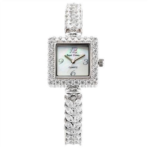 Đồng hồ lắc tay nữ cao cấp Royal Crown 3808