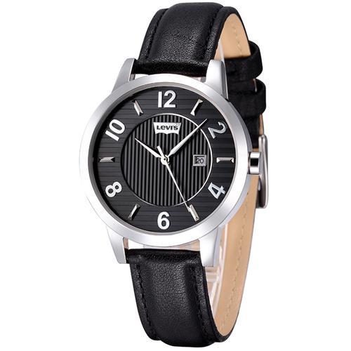 Đồng hồ nữ Levis LTK06 mặt trong kẻ sọc trang nhã