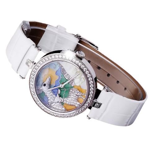 Đồng hồ nữ chạm hình thú Pinch L617
