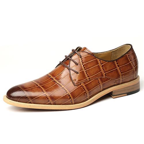 Giày da nam VANGOSEDUN Y1021 độc đáo và lạ mắt