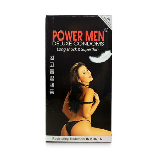 Bao cao su Power Men Long Shock and Super Thin