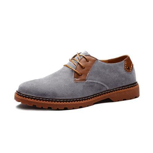 Giày da lộn nam Simier 1329 - Đơn giản, thời trang