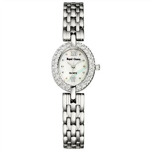 Đồng hồ nữ Royal Crown mặt Oval thanh lịch